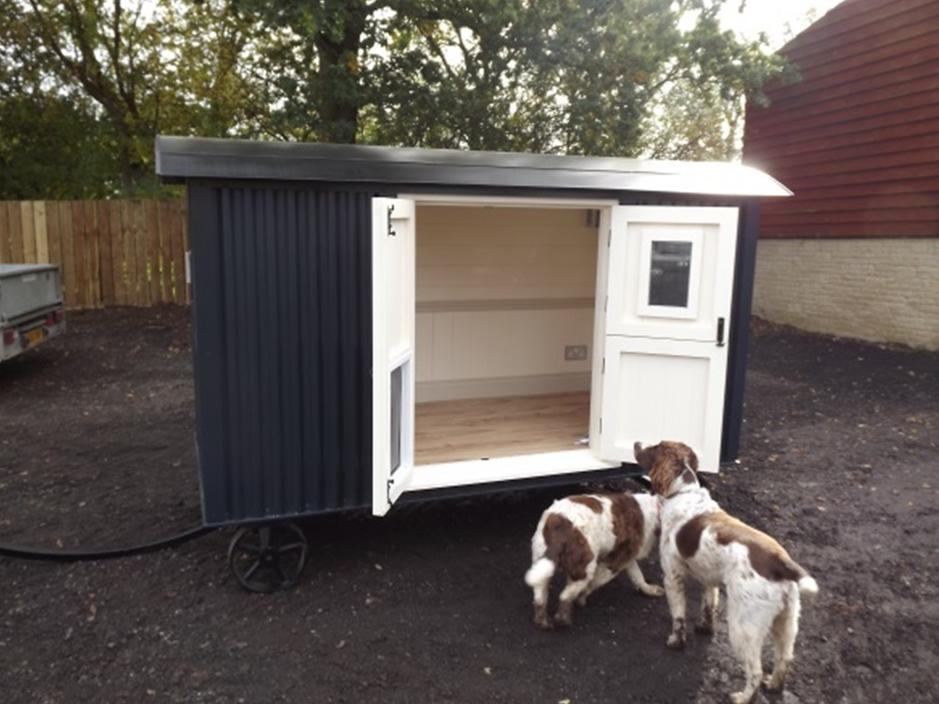 The Dog Hut Riverside Shepherd Huts