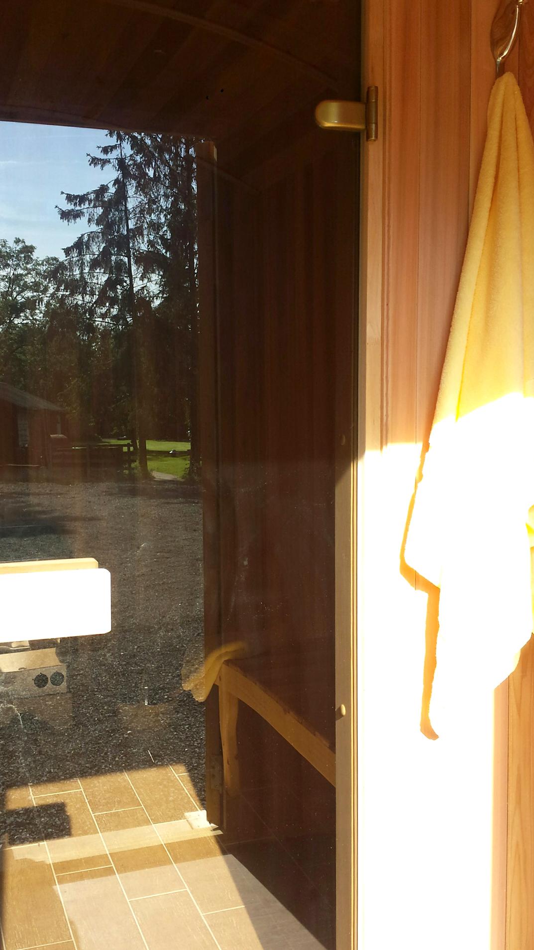 The Sauna Hut Riverside Shepherd Huts